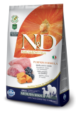 N&D GF Pumpkin DOG Adult M/L Lamb & Blueberry 12 kg