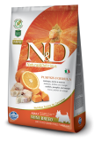N&D GF Pumpkin DOG Adult Mini Codfish & Orange 2,5 kg