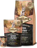 Carnilove Dog Salmon & Turkey for LB Puppies 12kg