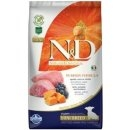 N&D GF Pumpkin DOG Adult Mini Lamb & Blueberry 800g