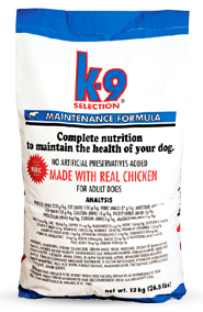 K-9 Selection Maintenance Formula 3kg