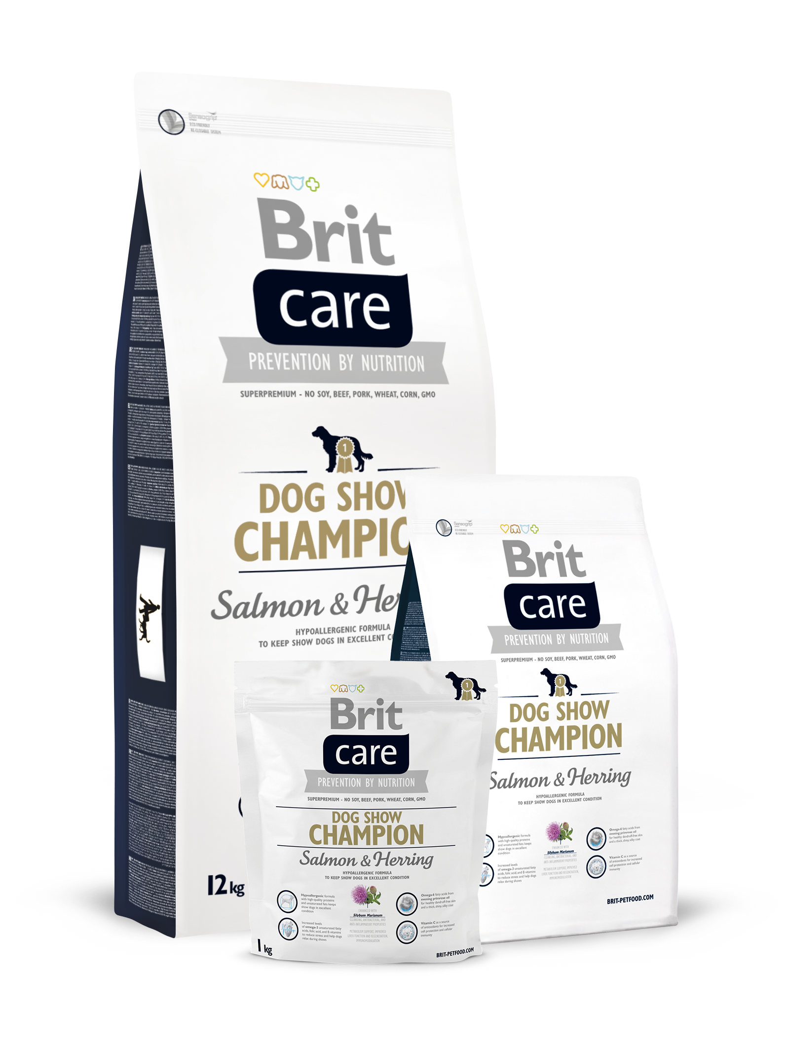 Brit Care Dog Show Champion 2 x 12 kg