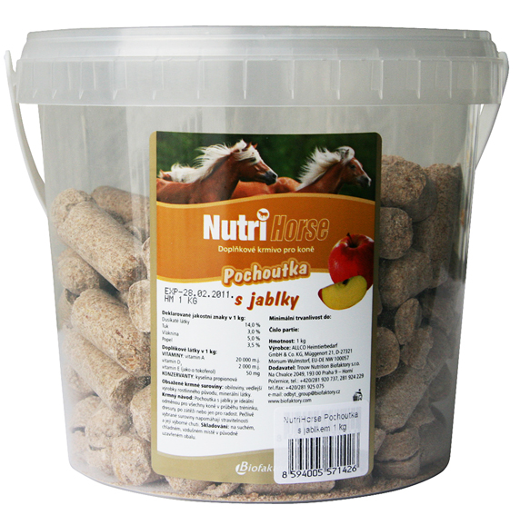 Nutrihorse Snack apple 600g
