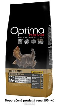 OPTIMAnova dog ADULT MINI GRAIN FREE 800g