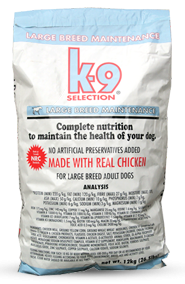 K-9 Selection Maintenance Large Breed Formula 2x 20kg