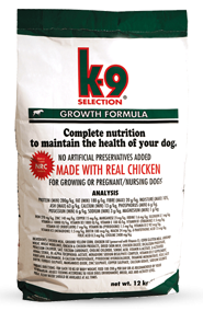 K-9 Selection Growth Formula 12kg