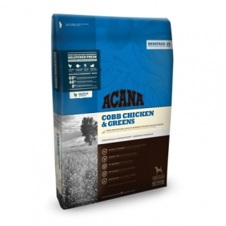 Acana Dog Cobb Chicken&Greens Heritage 11,4kg