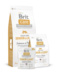 Brit Care Dog Grain-free Senior Salmon & Potato 3 kg