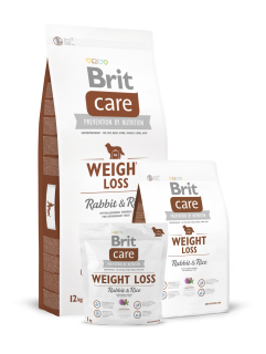 Brit Care Weight Loss Rabbit & Rice 2 x 12 kg