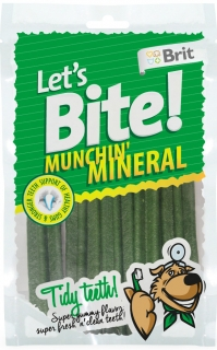 Brit pochoutka Let's Bite Munchin' Mineral 105g