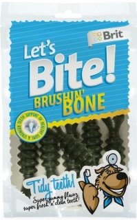 Brit pochoutka Let's Bite Brushin' Bone 90g