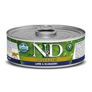 N&D CAT PRIME Adult Lamb & Blueberry 80g