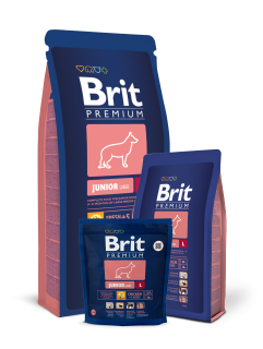Brit Premium Dog Junior L 3kg